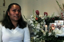 Maria Rojas describes the night of her son Joel's murder. Photo: Nasr ul Hadi